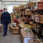 Εικόνες σοκ στο Παλέρμο: 700 φέρετρα στοιβαγμένα- Γέμισαν τα νεκροταφεία