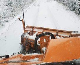 Δήμος Κατερίνης: Σε εξέλιξη η επιχειρησιακή δράση του μηχανισμού για την αντιμετώπιση του χιονιά