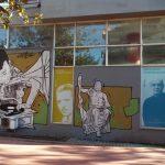 Graffiti του Same84 στο Πνευματικό Κέντρο του Δήμου Τρικκαίων
