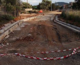 Δήμος Παιανίας: Έργα οδοποιίας στη ΔΕ Γλυκών Νερών