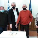 Κοπή πίτας και ευχές από απόσταση στο Δήμο Ελασσόνας
