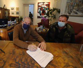 Δήμος Καβάλας: Υπογραφή μελέτης για την αποκατάσταση της ΜΟΜΑ