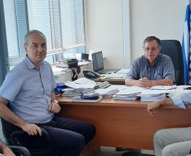 Επικοινωνία Δημάρχου Ελασσόνας με τον ΕΛΓΑ για τις αποζημιώσεις σε παραγωγούς