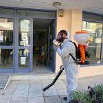 Δήμος Ανδραβίδας – Κυλλήνης: Απολύμανση στα Δημοτικά Κτίρια λόγω επιβεβαιωμένου κρούσματος