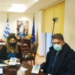 Συνάντηση Δημάρχου Αργιθέας με τη νέα Υφυπουργό Τουρισμού Σ. Ζαχαράκη