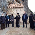 Δήμος Νεμέας: Επίσκεψη Αυτοδιοικητικών στην Ι.Μ. Παναγίας του Βράχου με στόχο την αναβάθμιση του Ιστορικού μνημείου