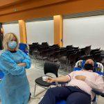 Καλαμαριά: Εθελοντική αιμοδοσία, μήνυμα η συμμετοχή του δημάρχου Γιάννη Δαρδαμανέλη