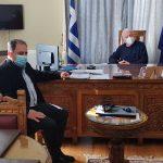 Δήμος Μυτιλήνης: Συνάντηση Κύτελη με Μουτζούρη για το Φράγμα Σεδούντα στο Πλωμάρι