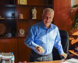 """Ο Δήμαρχος Νέας Σμύρνης εξελέγη αντιπρόεδρος του ΕΟΕΣ """"Εύξεινη Πόλη"""""""