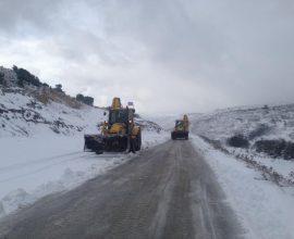 Σε επιφυλακή ο Δήμος Άργους Μυκηνών λόγω της χιονόπτωσης στα ορεινά