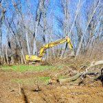 Εργασίες καθαρισμού του ποταμού Λείψιμου από την Π.Ε. Καρδίτσας