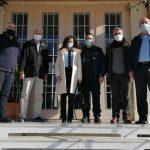ΠΔΕ: Επίσκεψη Ζαΐμη στo Σωφρονιστικό Κατάστημα Αγίου Στεφάνου Αχαΐας
