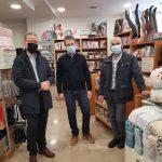 Επίσκεψη του Δημάρχου Κοζάνης στα εμπορικά καταστήματα