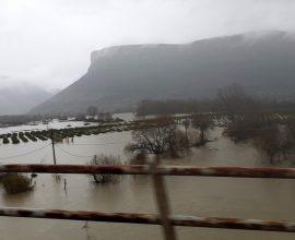 Περιφέρεια Ηπείρου: Πλημμύρες στον κάμπο των Φιλιατών και στις παραποτάμιες περιοχές του Καλαμά