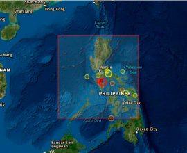 Ισχυρότατος σεισμός 7,1 Ρίχτερ σε θαλάσσια περιοχή στις Φιλιππίνες