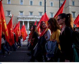 Αντιδρά το ΚΚΕ στην απαγόρευση: «Οι συγκεντρώσεις θα γίνουν κανονικά»