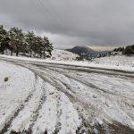 Προβλήματα στο οδικό δίκτυο των νησιών του Βορείου Αιγαίου- Που χρειάζονται αλυσίδες