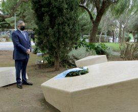 Ο Γ. Πατούλης στις εκδηλώσεις τιμής για την Ημέρα Μνήμης των Ελλήνων Εβραίων Μαρτύρων του Ολοκαυτώματος