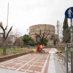 Δήμος Θεσσαλονίκης: Άρχισαν οι εργασίες για τη δημιουργία νέας παιδικής χαράς στη Ροτόντα
