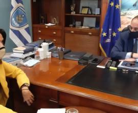 Παρέμβαση της Δημάρχου Κ. Κέρκυρας στον Υπ. Ναυτιλίας για στήριξη των νησιωτικών περιοχών