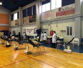 Με επιτυχία η Εθελοντική Αιμοδοσία του Δήμου Σαρωνικού