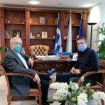 Συνάντηση εργασίας Δημάρχου Αμαρουσίου με τον Πρόεδρο της ΚΕΔΑ Ν. Πέππα