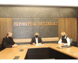 Περιφέρεια Θεσσαλίας: Υπογραφή σύμβασης της μελέτης για την ολοκλήρωση της περιφερειακής οδού της Λάρισας