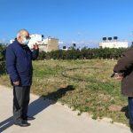 Στις εργασίες πρασίνου στα Ενετικά Τείχη ο Δήμαρχος Ηρακλείου Βασίλης Λαμπρινός