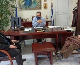 Δήμαρχος Ωραιοκάστρου: «Στηρίζουμε και ενισχύουμε τη λειτουργία εμβολιαστικών κέντρων κορονοϊού»