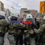 Θεσσαλονίκη: Επεισόδια στο φοιτητικό συλλαλητήριο- Χημικά και προσαγωγές