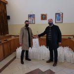 Υλικό ατομικής προστασίας από τον Αντιπεριφερειάρχη στον πρόεδρο του Ιατρικού Συλλόγου Κορονθίας
