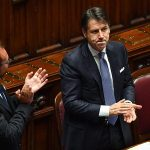 Ψήφο εμπιστοσύνης από την Ιταλική Γερουσία, στην κυβέρνηση Κόντε