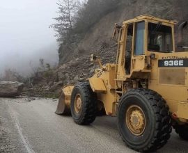 Σοβαρά προβλήματα στην Περιφέρεια Ηπείρου από κατολισθήσεις