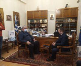 """Πέτσας σε Καχριμάνη: """"Εγκαινιάσαμε μια καλή συνεργασία προς όφελος των πολιτών"""""""