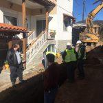 Δήμος Θέρμης: Κατασκευάζεται το αποχετευτικό δίκτυο στην κοινότητα Λακκιάς
