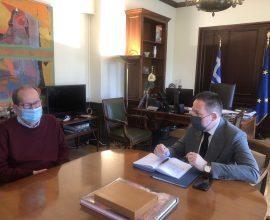 Συνάντηση Νίκα-Πέτσα- Να προχωρήσουν ταχύτατα οι μεταρρυθμίσεις