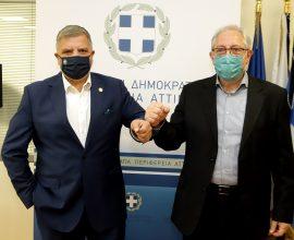 Πατούλης: «Ενισχύουμε το μητροπολιτικό χαρακτήρα του Δήμου Αμαρουσίου με έργα που έχουν ισχυρό αναπτυξιακό πρόσημο»