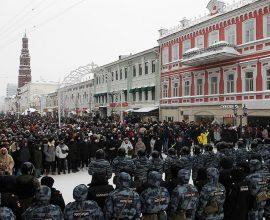 Διαδηλώσεις για τον Ναβάλνι-Το καθεστώς Πούτιν συνέλαβε πάνω από 1.000 υποστηρικτές του