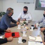 Δήμος Χερσονήσου: Συνάντηση με τον Δήμαρχο Οροπεδίου Λασιθίου, Γ. Στεφανάκη