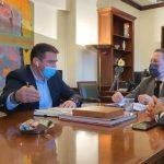 Συναντήσεις Δημάρχου Χερσονήσου με Πέτσα και Γεωργιάδη