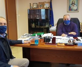 Συνάντηση Δημάρχου Λαγκαδά με τον Θ. Καράογλου
