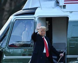 Αποχώρησε από το Λευκό Οίκο ο Ντόναλντ Τραμπ