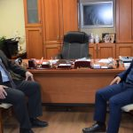 """Οι ζημιές από τον """"Ιανό"""" στο επίκεντρο συνάντησης του Δημάρχου Καρδίτσας με τον Γ.Γ. Οικονομικής Πολιτικής"""