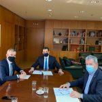Διαδοχικές συναντήσεις του Δημάρχου Θεσσαλονίκης με τους Υπουργούς Εσωτερικών και Περιβάλλοντος