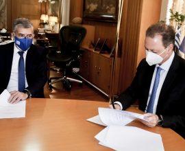 Υπεγράφη από Λιβανό – Αγοραστό η προγραμματική σύμβαση για το Διαχειριστικό Σχέδιο Βόσκησης της Περιφέρειας Θεσσαλίας