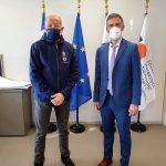 Π.Ε. Λευκάδας: Σύσκεψη του Αντιπεριφερειάρχη με τον Γενικό Γραμματέα Πολιτικής Προστασίας