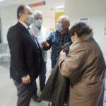 Επιτόπια θεώρηση Δημάρχου Κιλκίς στα εμβολιαστικά κέντρα των ΚΥ Δροσάτου και Κιλκίς