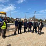 Επίσκεψη Δημάρχου Ανδραβίδας – Κυλλήνης στο υπό κατασκευή Γενικό Λύκειο Λεχαινών