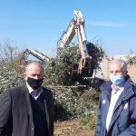 Π.Ε. Αν. Αττικής: Επίβλεψη Αυγερινού των εργασιών διαχείρισης οργανικών αποβλήτων στον Δήμο Διονύσου