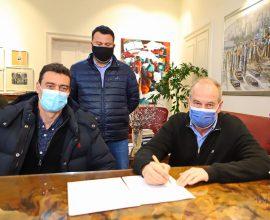 Δήμος Καβάλας: Υπογραφή σύμβασης για την αντικατάσταση πυροσβεστικών κρουνών